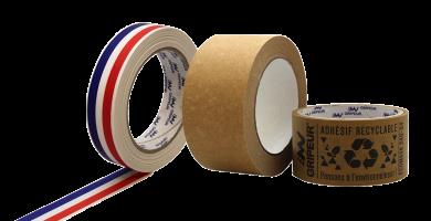 adhésif écologique recyclable imprimé et personnalisé