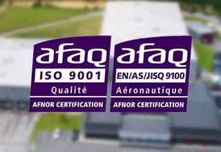 Certifications processus qualité ISO 9001 EN 9100