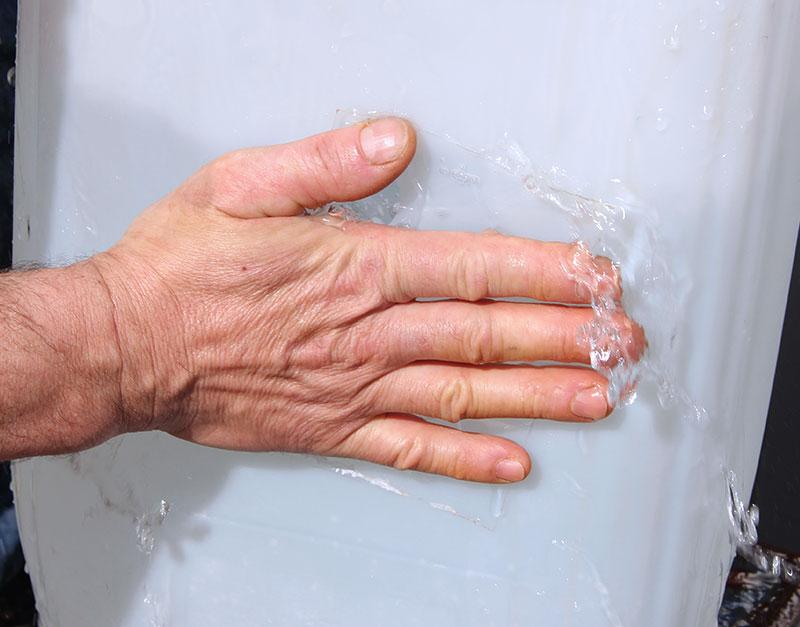 adhésif réparation de fuites d'eau et air